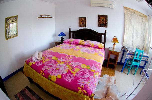 Stock Image : Accomodations - Hostal Los Aventureros - Santa Cruz, Bolivia